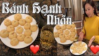 Bánh Hạnh Nhân - Cách làm bánh hạnh nhân - How to make Almond Cookies Vietnamese Style