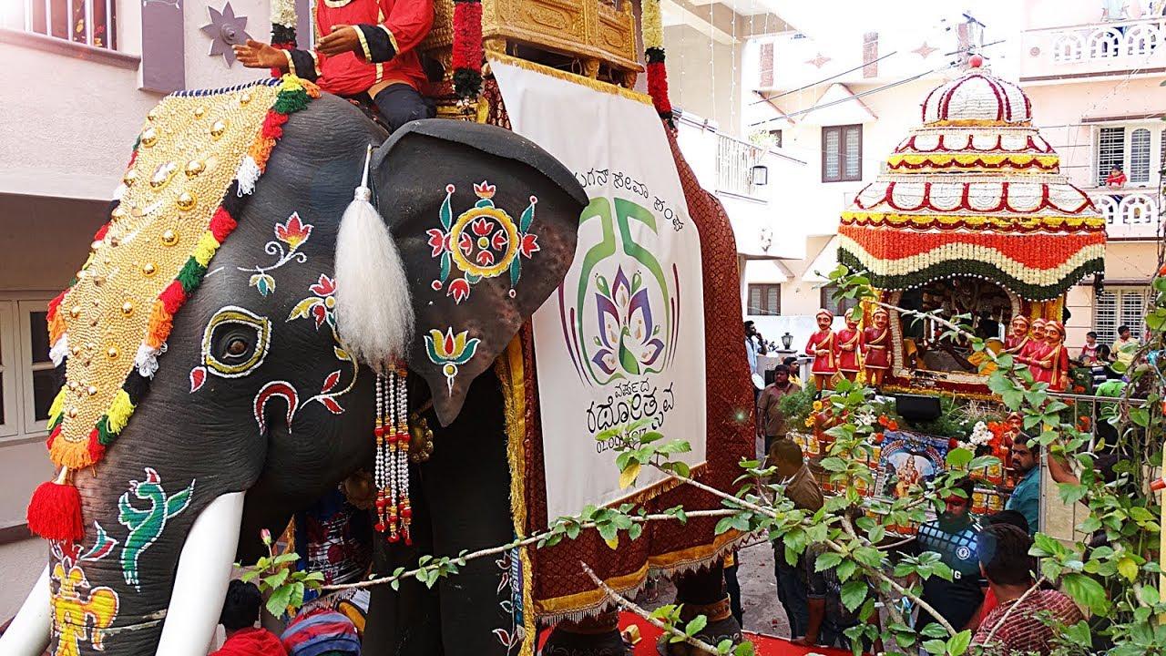 Making of Ambari | 25 years of Car Festival | Sri Murugan Seva Sangha |  Coxtown Jeevanahalli pallaki by Amish Kumar