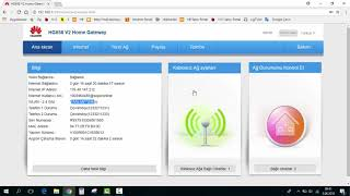 Turkcell Superonline Kullanıcı Adı ve Şifre Degiştirme / Huawei Modem