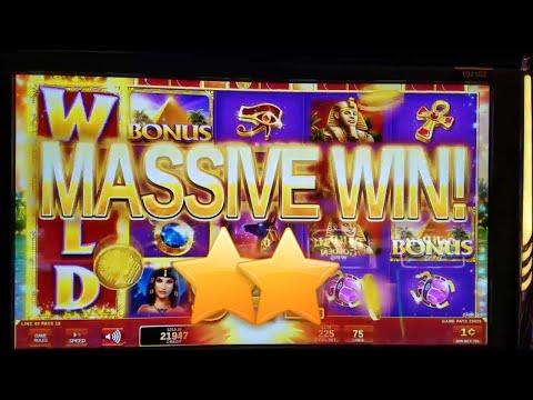 Golden Egypt Slot Machine Bonus Big Win - 동영상