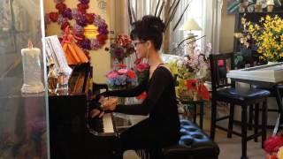 MOT THUO YEU DAN( Piano cover: Slow-rock in D-major)