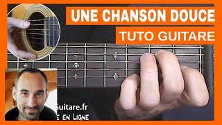 "Henri Salvador ""Une Chanson Douce"" Tuto Guitare"