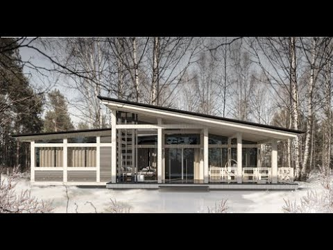 Построение модели одноэтажного фахверкового дома  220  кв.м  в  SketchUp.  Выпуск #53