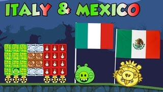 ITALY & MEXICO FLAG! - Bad Piggies Inventions