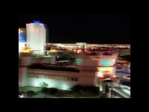Eyewitness captures moment tumultuous gunfire hits Las Vegas music festival