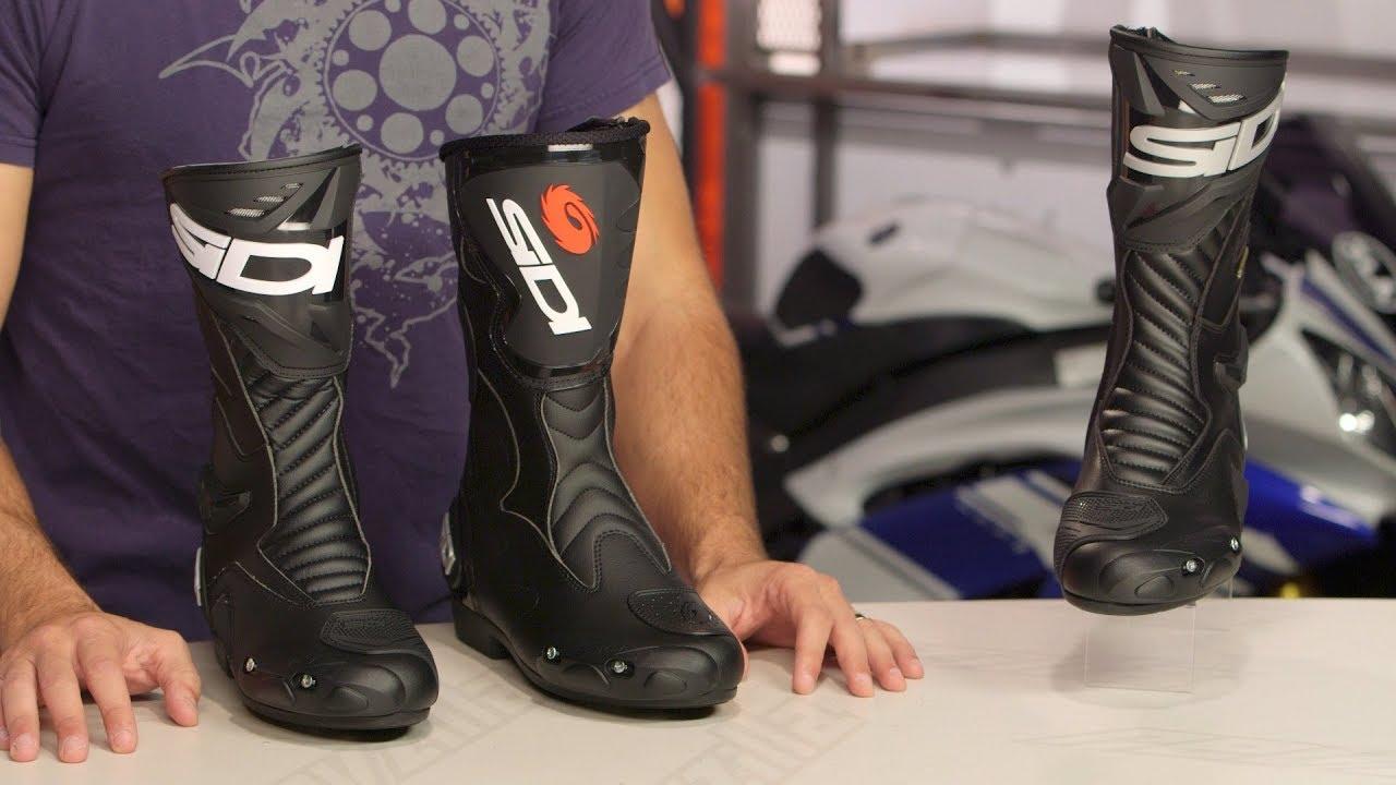 Boots Moto Racing Sidi Performer Black Black