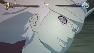 Naruto Shippuden Ultimate Ninja Storm 4 - Obito & Kakashi vs Madara Boss Battle (English Dub)