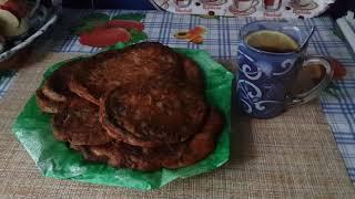 Оладушки с красной капустой/нежные,воздушные/бюджетное блюдо