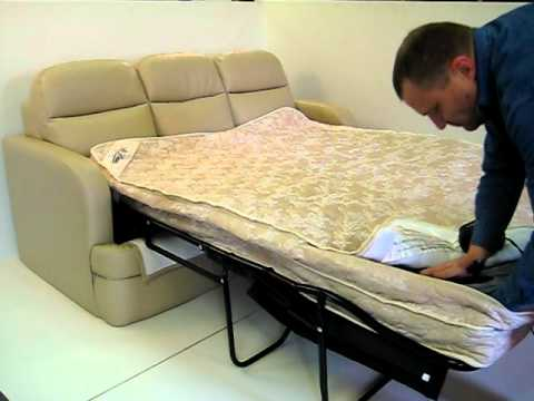 AIR DREAM Sleeper Sofa Is The Next Generation In Comfort YouTube - Sleeper sofa matress