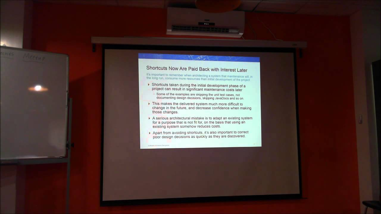 5 Things Every Software Architect Should Know - Nishant Krishna at Software  Architects Meetup
