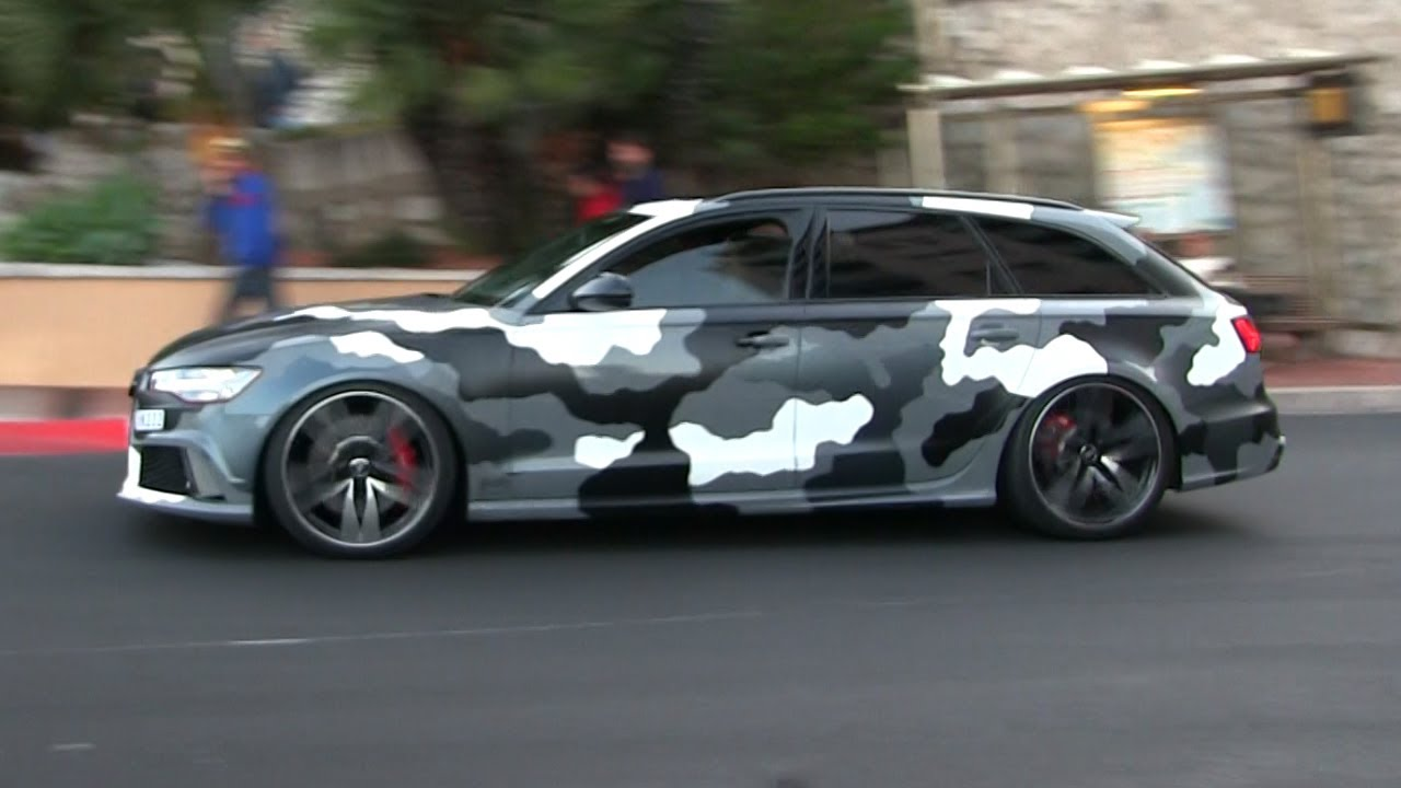 Black Camouflage Wallpaper Gmk S Camo Audi Rs6 Performance W Straight Pipes Milltek