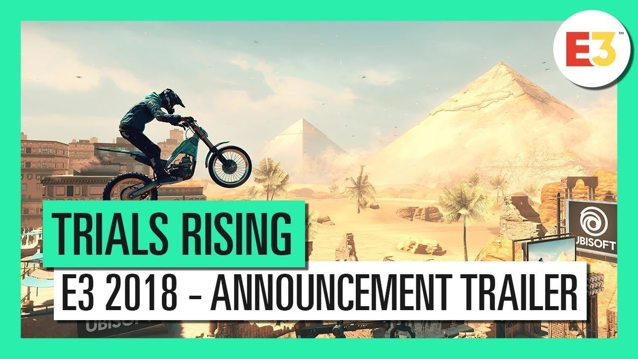 Trials Rising - E3 2018 Announcement Gameplay Trailer - YouTube