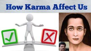 How Karma Works | Babaji Muthukumar