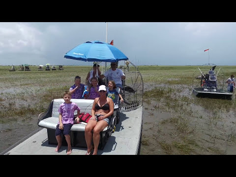 EverGlades 4th of July Airboat Races Phantom 3 Drone