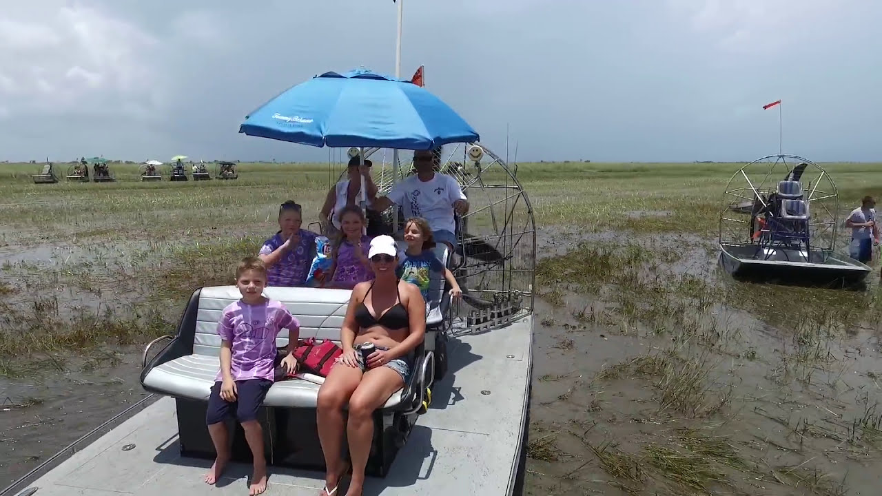 EverGlades 4th of July Airboat Races Phantom 3 Drone - YouTube