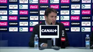 Rueda de Prensa de Philippe Montanier - Real Sociedad (2-1) Sevilla FC - HD