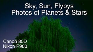 Sky, Sun & Flybys - Pics of Planets & Stars (Nikon P1000 Thoughts)
