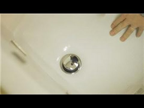 Bathroom Repair How To Repair A Foot Lock Bathtub Drain