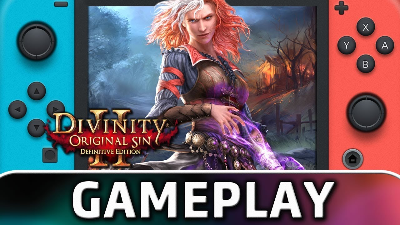 Divinity: Original Sin 2 – Definitive Edition | First 15 Minutes on Nintendo Switch