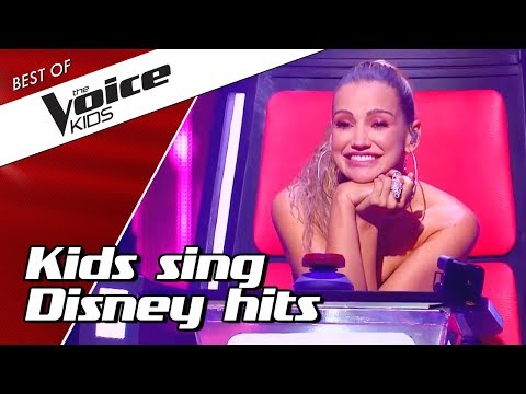TOP 10 | Kids sing BEST DISNEY SONGS in The Voice Kids