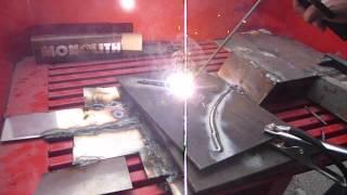 Сварка электродом марки УОНИ 4 мм инвертором Stark RL(Сварка электродом марки УОНИ очень сложная и требует на 30-40 % большей силы сварочного тока чем обычные рутил..., 2012-08-19T21:45:40.000Z)