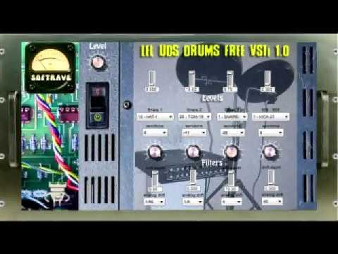 Lel UDS Drums Free VSTI  Sounds Demo  - Emulation of Famous Soviet Analog  Module - Free download