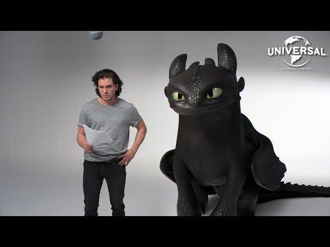 Como Treinar o seu Dragão 3 | Jon Snow e Banguela aparecem em vídeo promocional