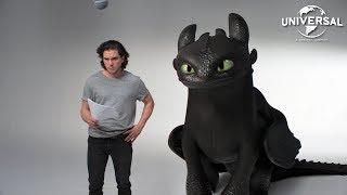 Como Treinar O Seu Dragão 3 - Teste de Elenco Kit Harington