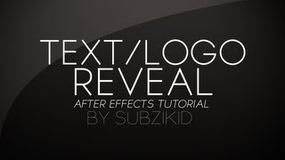 Hand Drawn Text/Logo Reveal Tutorial | After Effects