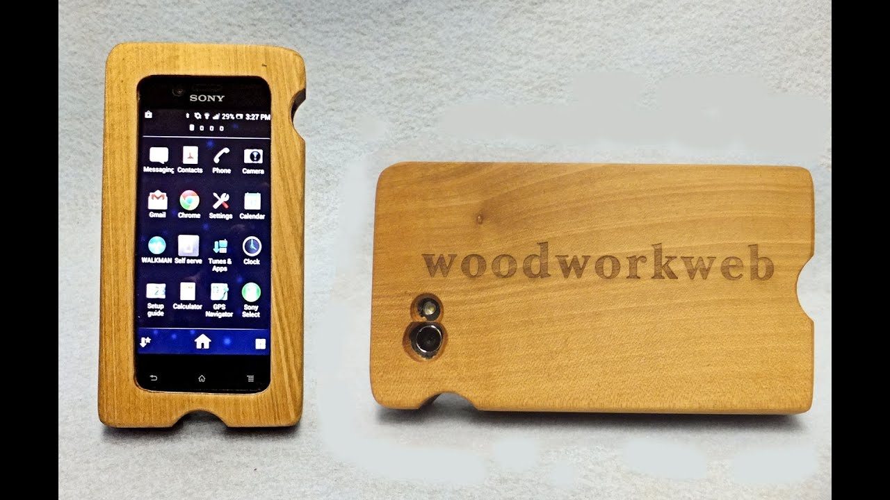 Make A Wood IPhone Or Smart Phone Case
