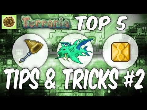 Terraria 1.3 Top Tips & Tricks #2 | 1.3 Tutorial | Glitch | Terraria Guide