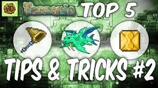 Terraria 1.3 Top Tİps & Tricks #2 | 1.3 Tutorial | Glitch | Terraria Guide