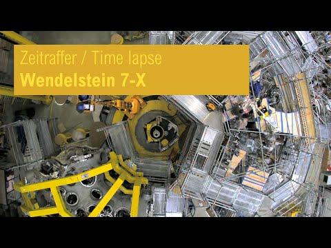 Im Zeitraffer: Zusammenbau von Wendelstein 7-X