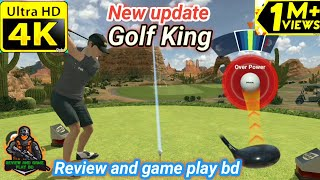 #GolfKing #golf #golfgame #UKgolf Golf King good game play in online, Golf King game play #golfgames
