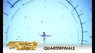 Mochi: Diabolo Street Performer Creates Visual EXTRAVAGANZA! | America's Got Talent 2018