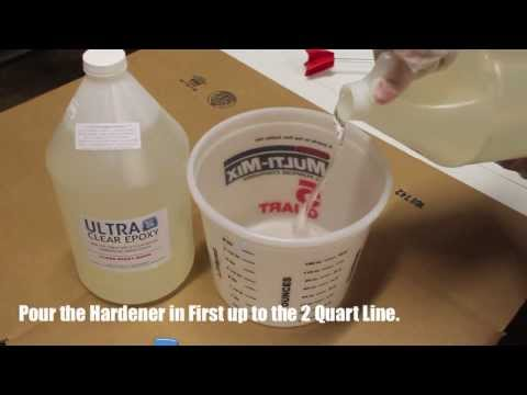 UltraClear Epoxy Mixing Video