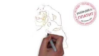 Король лев смотреть онлайн  Нарисованный карандашом король лев(Король лев мультфильм. Как правильно нарисовать короля льва онлайн поэтапно. На самом деле легко и просто..., 2014-09-18T15:10:34.000Z)
