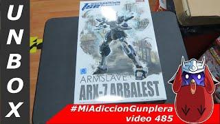 #MAG - Unbox - 1/48 ARX-7 Arbalest Full Metal Panic AOSHIMA