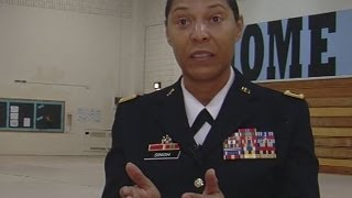 Maryland Army National Guard pioneer shares her wisdom
