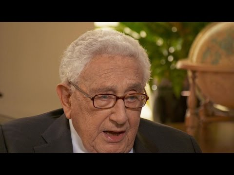 Kissinger says Trump could go down in history as