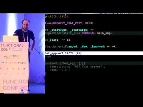 Achieving High Uptime with Erlang's OTP by Bernard Duggan at Functional Conf 15