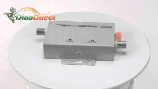 Coaxial Cable BNC Video Signal Amplifier Booster HFH-5311  from Dinodirect.com