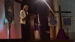 Pregón de Paloma Artola, de la Semana Santa de Gamarra 2017. (2)