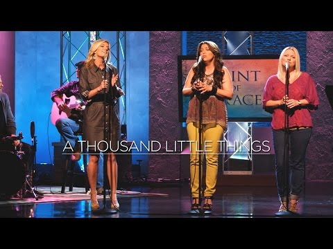Point Of Grace: A Thousand Little Things (Live on The 700 Club)