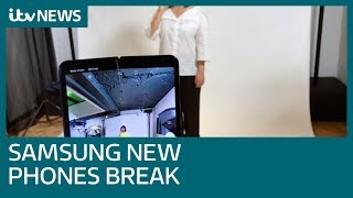 Some of Samsung's new folding phones are already breaking | ITV News