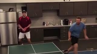 saque ace video ping pong
