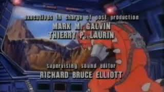 Dinosaucers Credits with 1984 DIC Entertainment and Saban logos