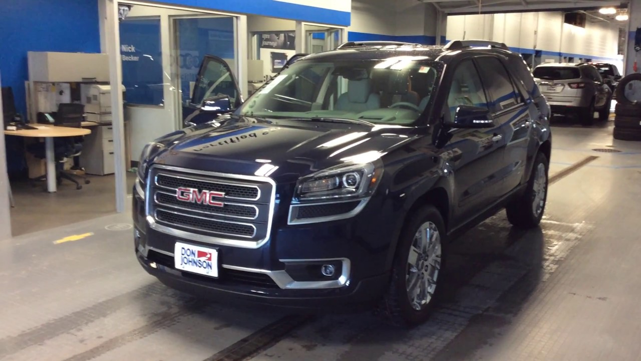 2017 gmc acadia limited at don johnson motors in rice lake wi youtube. Black Bedroom Furniture Sets. Home Design Ideas