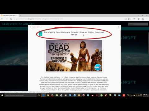 The Walking Dead Michonne Episode 2 Give No Shelter Download Free Pc
