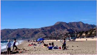 Road trip to Zuma Beach In Malibu Los Angeles California